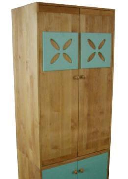 爱心城堡儿童家具衣柜JA18-WR1-BLJA18-WR1-BL