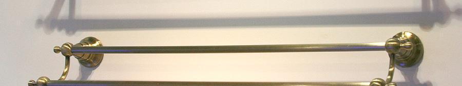 伊翎青古铜系列双杆毛巾杆24# EL-1611102BN