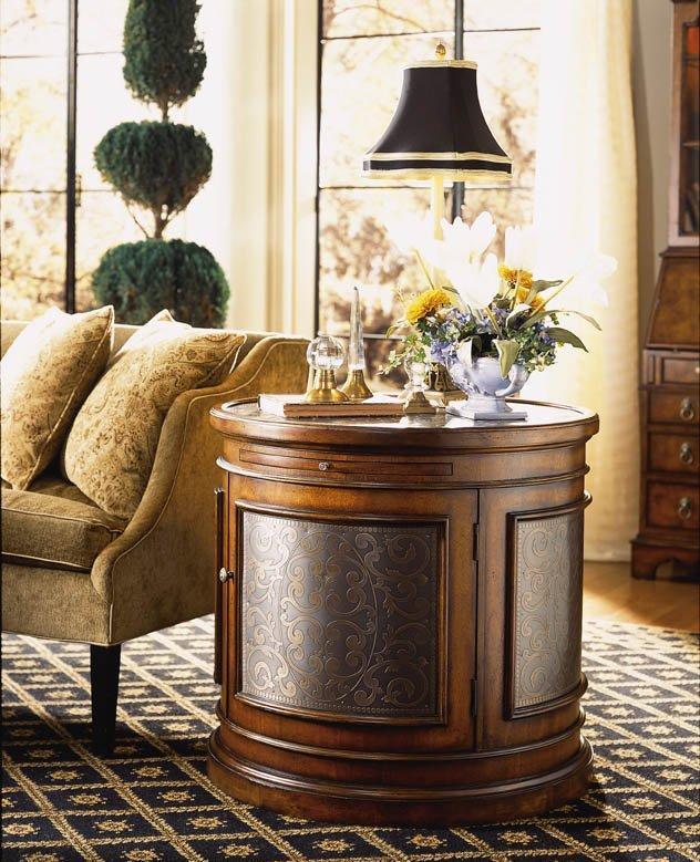 FFDM美国精制家具鼓形装饰桌430-970430-970