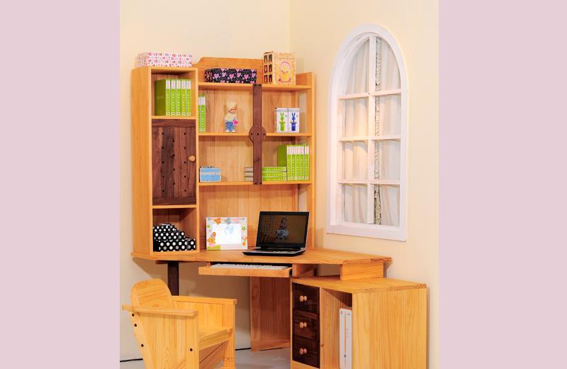 爱心城堡儿童家具书柜JA05-DK1-NRJA05-DK1-NR