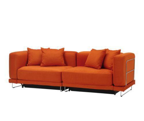 宜家垫套带储物泰洛桑系列三人沙发床