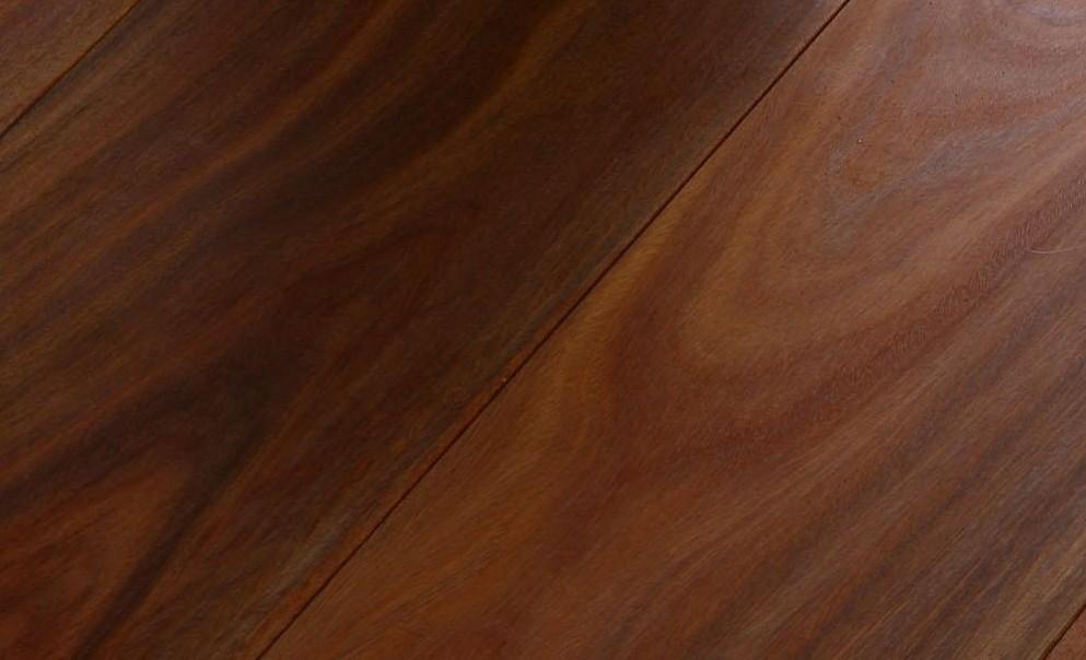 新绿洲直线实木系列玉檀香实木地板