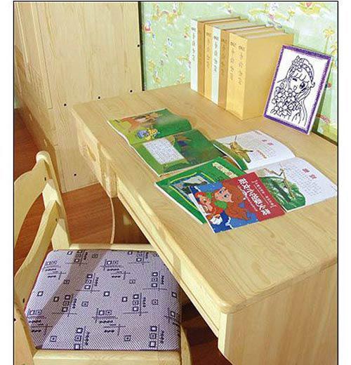 香柏年实木家具儿童电脑桌D01D01
