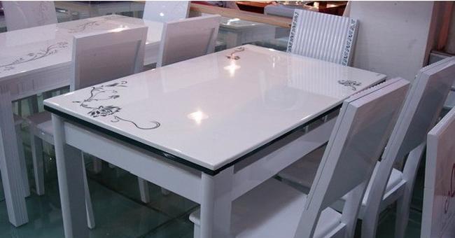 龙森650亮光烤漆餐桌650