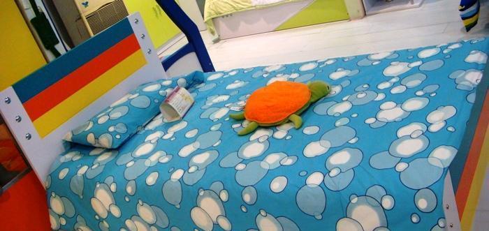彩虹宝卧室家具-复式床12#