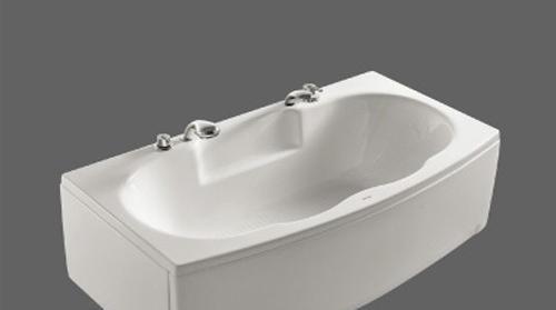 美加华压克力五金件双裙浴缸(左/右)M-1527SQ(含M-1527SQ