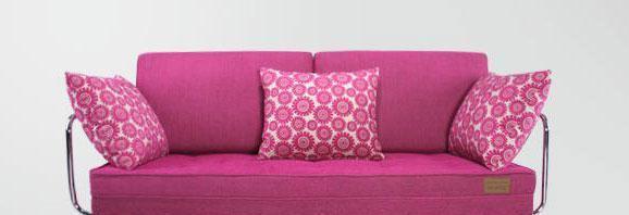 麦斯得尔香榭系列海轮s22沙发床(红)s22