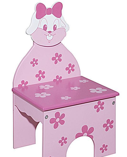 图图佳佳图图宝宝系列RJU00476小兔书椅(粉色)