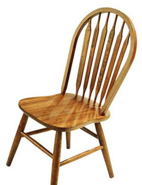 考拉乐餐椅环球橡木实木剑形环球universal系列8006-0300