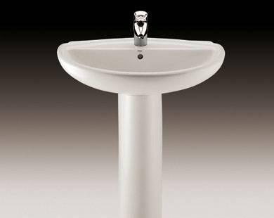 乐家卫浴魅力系列立柱洗脸盆3-20352..13-20352..1