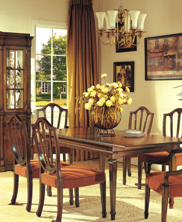 大风范家具低调伯爵餐厅系列CL-710-1长餐桌CL-710-1长餐桌
