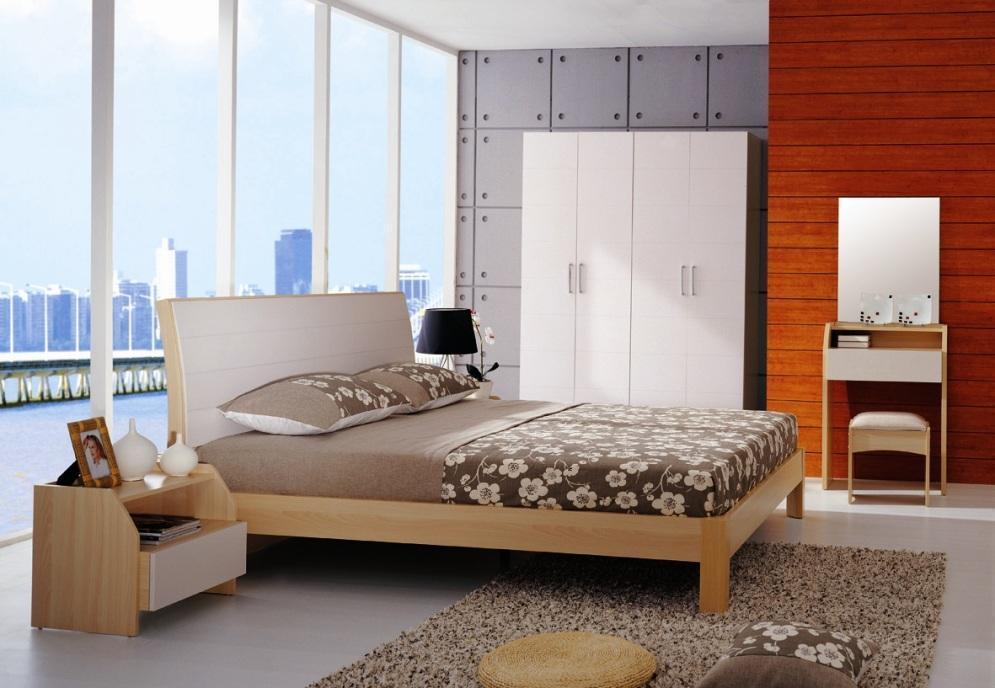 华源轩- 卧室家具-红樱桃系列-1.8米大床-R801ALR801AL