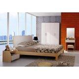华源轩- 卧室家具-红樱桃系列-1.8米大床-R801AL