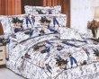 梦洁家纺全棉花边三件套(1.2和1.5床用)22号