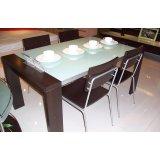 国安佳美黑橡系列 餐桌J0110
