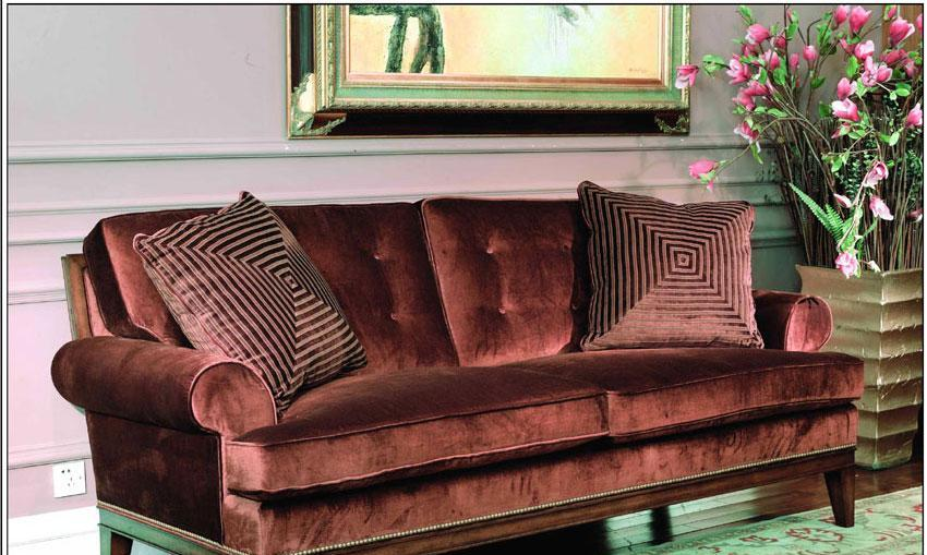 梵思豪宅客厅家具OP5098SF3p沙发OP5098SF3p