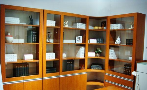 诺捷书房家具-书柜7K0117K011