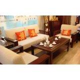 光明实木客厅家具系列-沙发