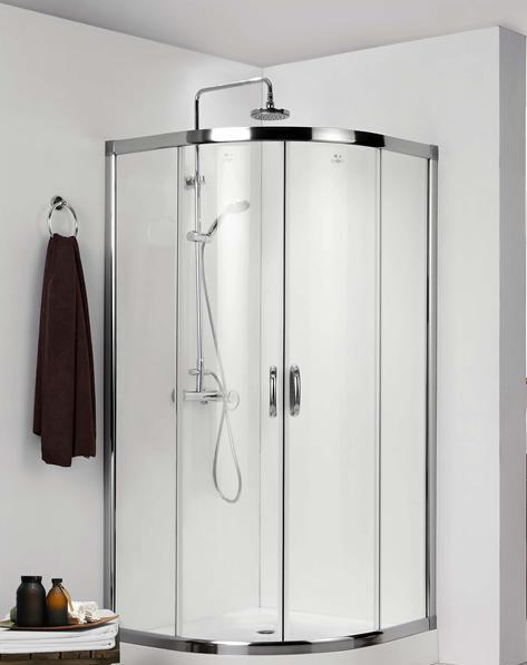德立圆弧形推拉门淋浴房C0802C0802