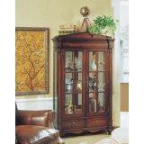 大风范家具低调伯爵客厅系列CL-651-2双门饰品柜