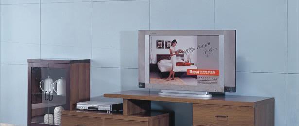 皇朝家私地柜浅胡桃系列5B105B10