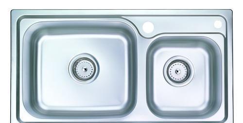 摩恩大小槽不锈钢厨盆2330023300