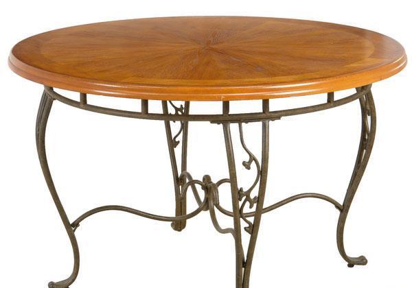 考拉乐拿破仑铁艺系列06-800-2-900D餐桌06-800-2-900D