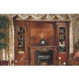 大风范家具路易十六书房系列LV-551-2组合单门书