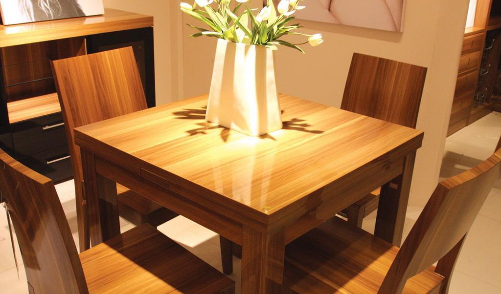 澳玛拉伸餐台KAT301+餐椅KAY201KAT301