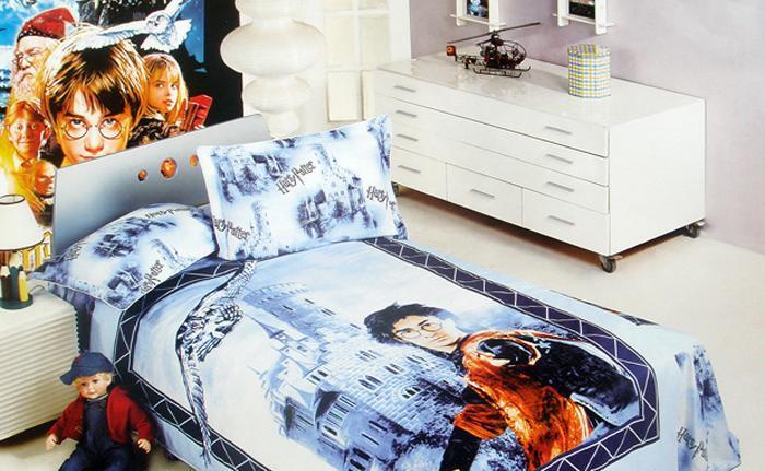 艺森家纺床上用品三件套全棉性印染卡通TD-103-TD-103-哈里.波特
