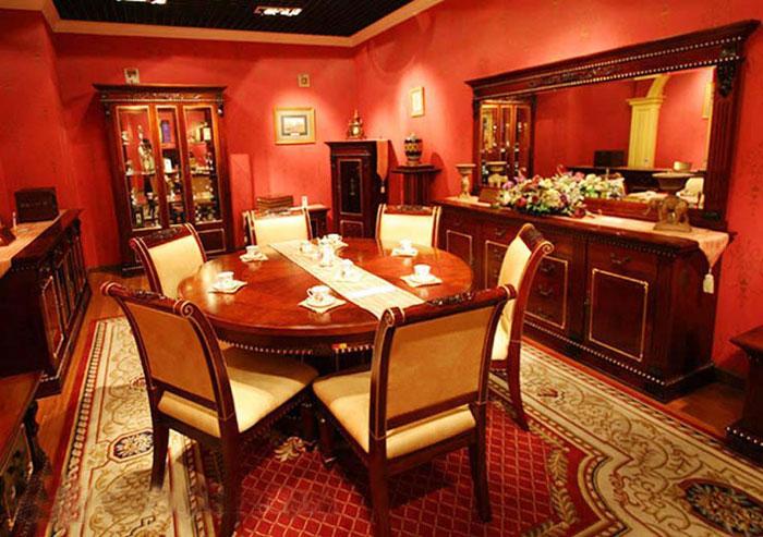 标致餐厅家具-凯欧丽斯系列-餐桌餐椅2