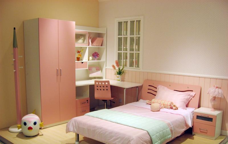 七彩人生整体卧室粉红组合Q5-BP203Q5-BP203