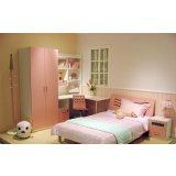 七彩人生整体卧室粉红组合Q5-BP203