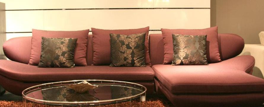 凯帝布艺单扶KD8061三位沙发
