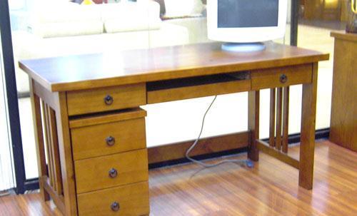思可达书房家具308型写字台-1308型写字台-1
