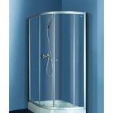 乐家卫浴威尼斯系列斜长弧形淋浴房(右开门)N002