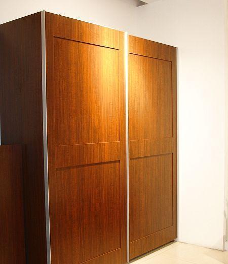 诺捷卧室家具衣柜推拉柜8A502-L/B+8A302-LB花梨8A502-L/B+8A302-LB