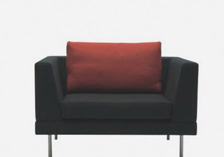 北山家居客厅家具单人沙发1SA829AD1SA829AD