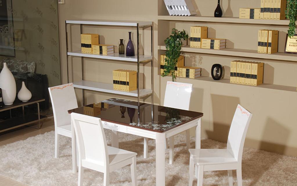 朗臣时尚中国风系列B247餐桌B247