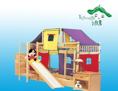 小牧童儿童床组合产品系列TZ-014TZ-014