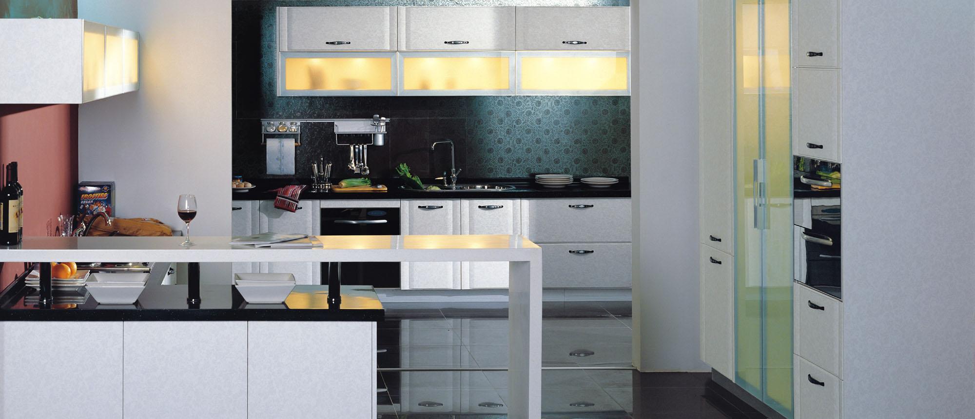 蓝谷智能厨房白金汉系列LX-4003 L型+II型半开放LX-4003 L型