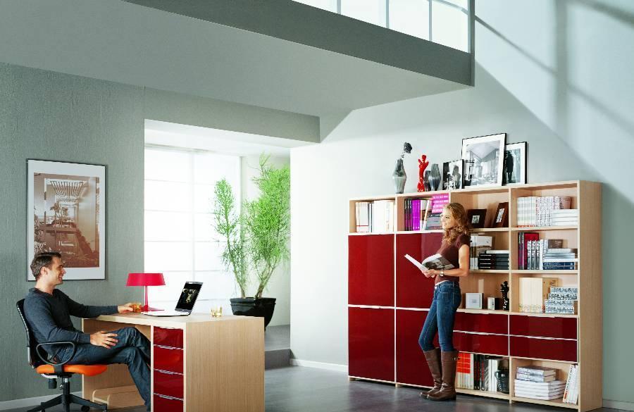 耐特利尔原橡木系列红色彩釉书柜红色彩釉书柜
