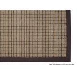 竹纤维地毯,烧花竹地垫,密线竹地垫