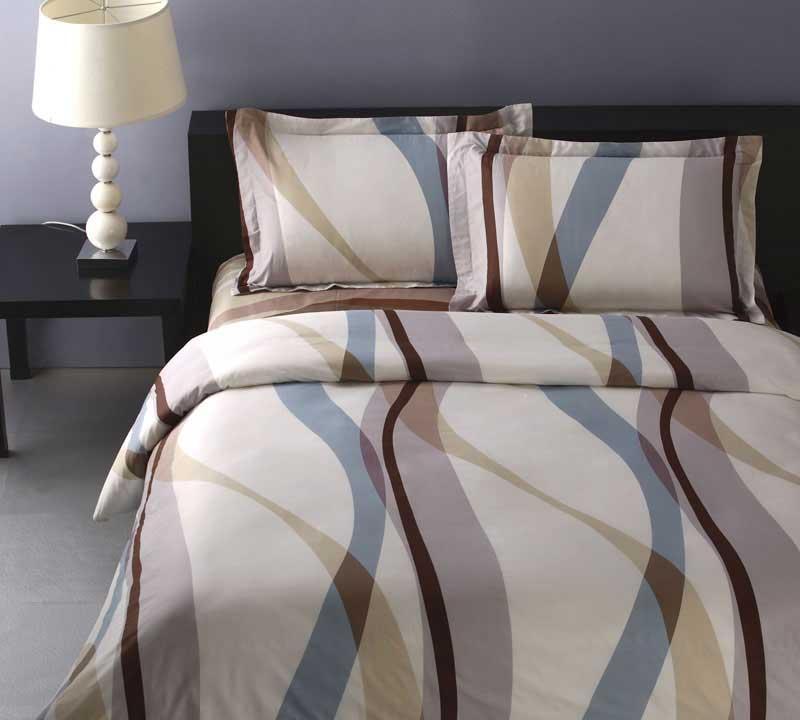 罗莱家纺商务系列双人全棉床单四件套-多瑙河旋多瑙河旋律