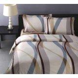 罗莱家纺商务系列双人全棉床单四件套-多瑙河旋