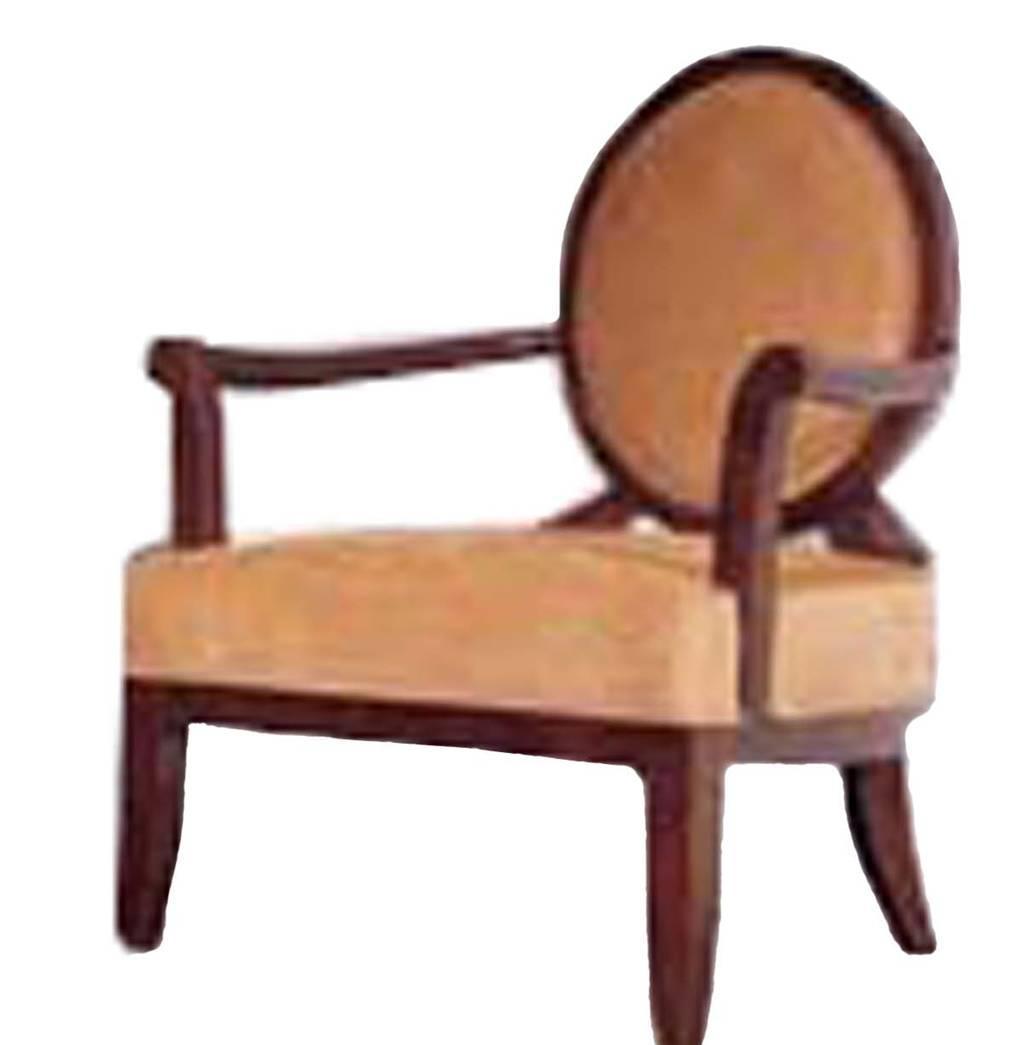 美凯斯家具卧室家具黄金海岸系列M-C557W休闲椅M-C557W