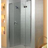 乐家卫浴夏威夷系列非标准型淋浴房(右开门,1固
