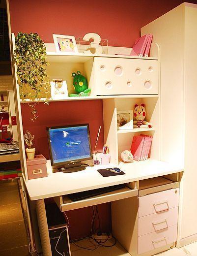 多喜爱儿童家具电脑桌组合书桌8G-AA+Y*2+H+8U138G-AA+Y*2+H+8U13