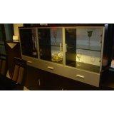 强力餐厅家具-水酒柜SHJG001