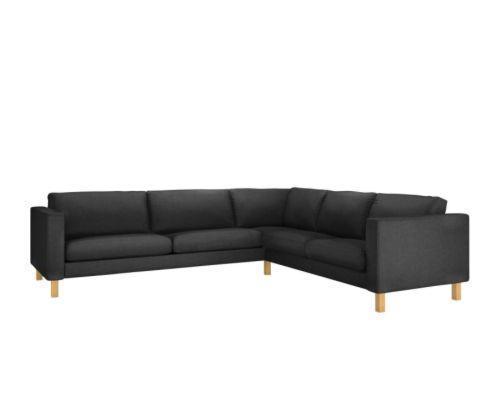 宜家2+3/ 3+2 卡斯塔(灰色/自然色)转角沙发